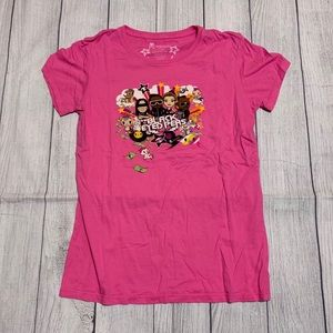 Tokidoki Black Eyed Peas Pink Shirt